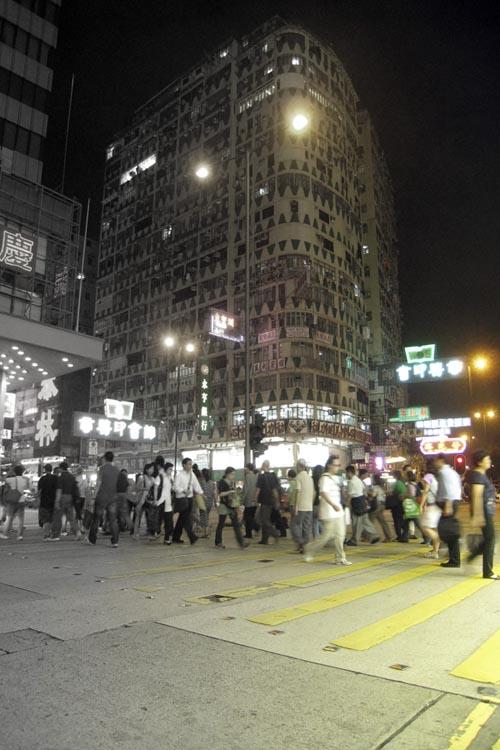 HK Color Crosswalk