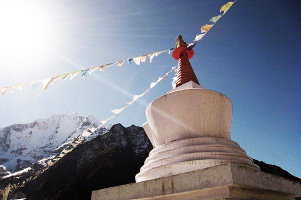 Trek - Bright Stupa