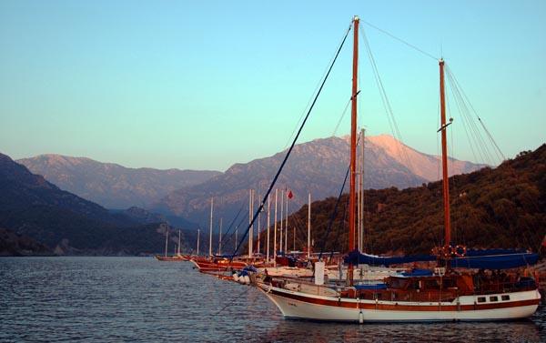 Blue Cruise Sunset